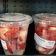 Fresh Strawberry Cup
