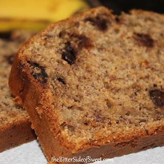 BANANA CHOCOLATE NUT BREAD