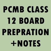 12 PCMB BOARD NOTES + Imp. Que