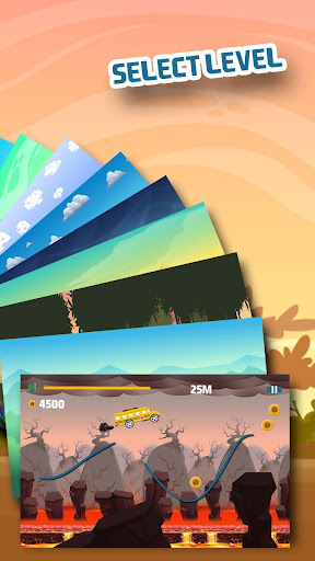 Draw the Road - Hill Climbing 1.0 screenshots 7