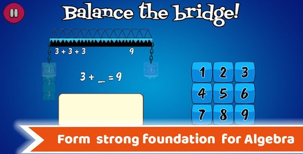 Math Balance : Learning Games For Kids Grade 1 – 5 3