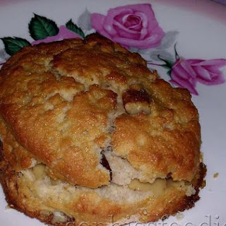 Sophie's Maple Scones With Pecans & Cranberries, Served With Maple's Butter