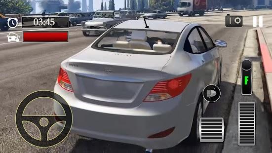 Car Parking Hyundai Accent Simulator - náhled