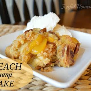 Peachy Dump Cake.