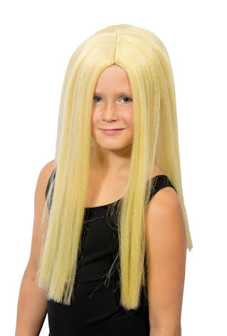 Barnperuk, blondin