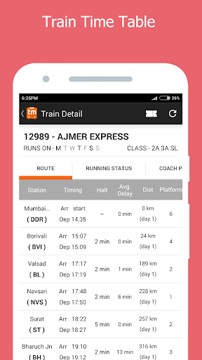 PNR Status Prediction Trainman for PC