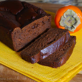 Persimmon Gingerbread.