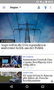 az Badener Tagblatt News screenshot 1