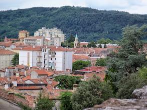 Photo: Z murów zamkowych rozpościera się widok na dachy zachodnich dzielnic miasta Gorizia.