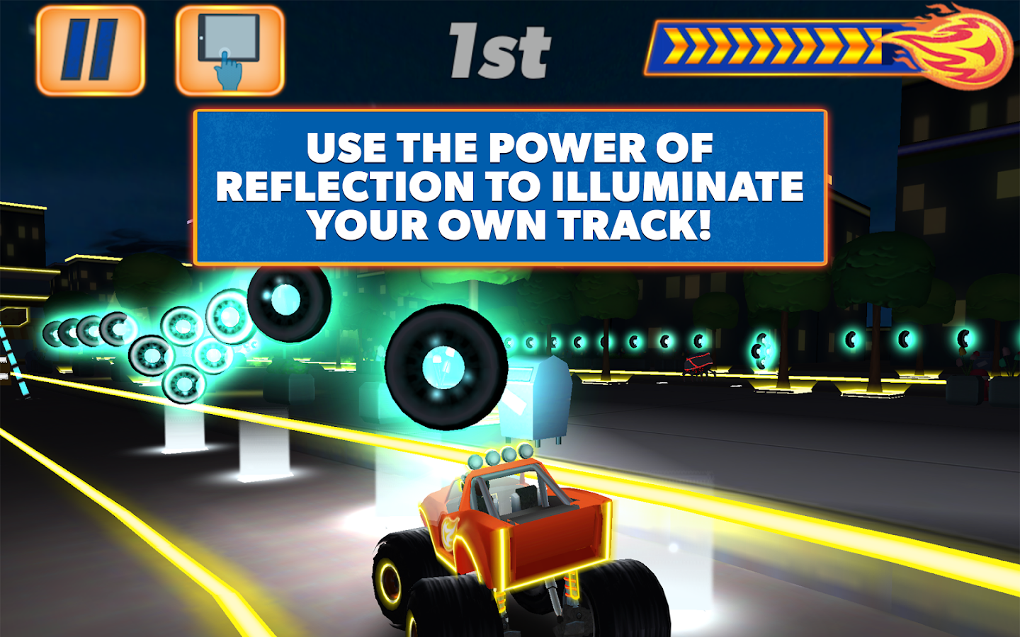 Blaze and the Monster Machines- screenshot