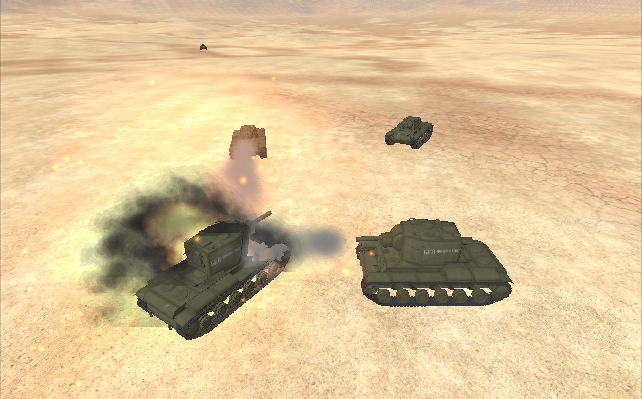 Tank Mission 3D - Furious War- screenshot
