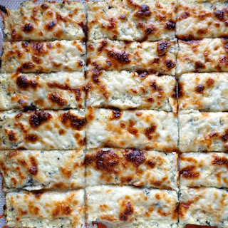 Cheesy Cauliflower Breadsticks.