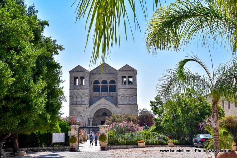 Базилика Преображения Господня, гора Тавор или Фавор. Экскурсия, Нижняя Галилея, Израиль.