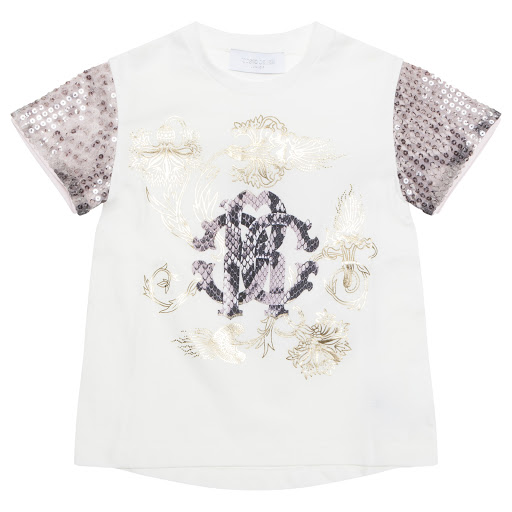 Primary image of Roberto Cavalli Sequin T-shirt