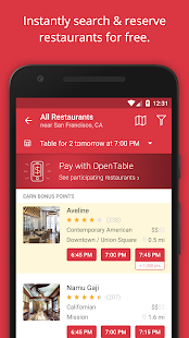 OpenTable: Restaurants Near Me Screenshot 2