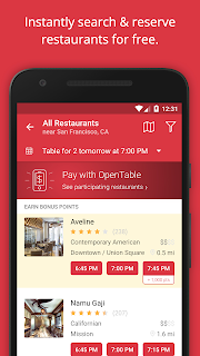OpenTable: Restaurants Near Me screenshot 01