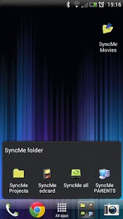 SyncMe Wireless Screenshot