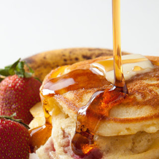 Strawberry Banana Pancakes Recipes
