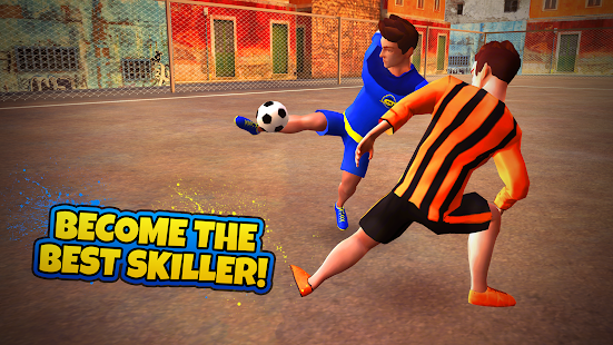 SkillTwins Football Game Screenshot