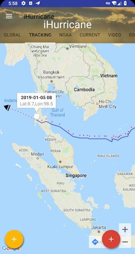 Hurricane & Typhoon Track, Outlook,Forecasting 5.68 screenshots 2