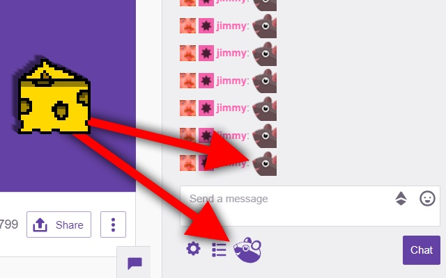 Twitch Sneaky Mouse Button
