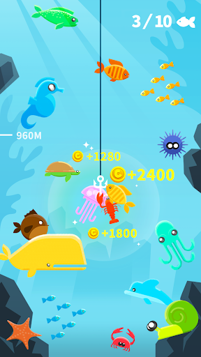 Code Triche Happy Fishing - Fish Master mod apk screenshots 2