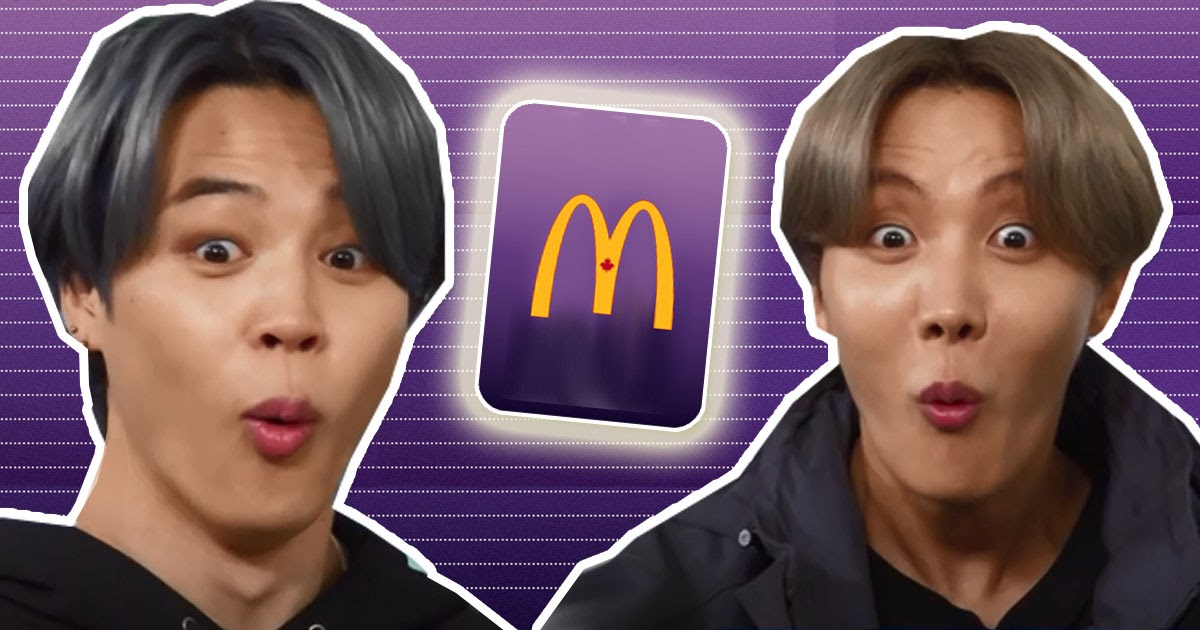 """McDonald's Canada Might Have Dropped A Spoiler For """"The BTS Meal"""" - Koreaboo"""