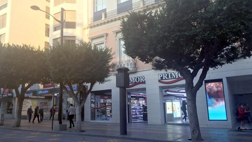 Los nuevos apartamentos están en el centro del Paseo de Almería.