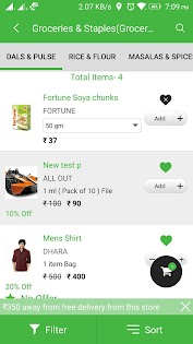 (APK) تحميل لالروبوت / PC MyShopie - Grocery Store تطبيقات screenshot