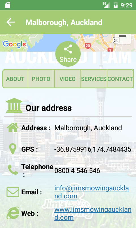 The Jim's Auckland Team- screenshot