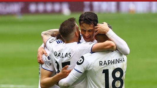Hasil Liga Inggris - Tottenham Hotspur Dipecundangi Leeds United, Zona Liga Champions Makin Jauh - Bolasport.com