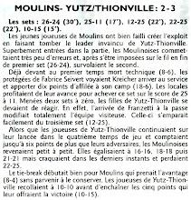 Photo: 10-03-2012 R1F Moulins - ASVB 2-3