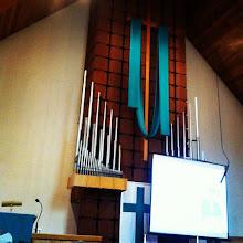 Photo: Beautiful traditional church interior in Surrey, BC #intercer #church #architecture #britishcolumbia #canada #traditional #cross #blue #music #organ #wood #ceiling #Christ #Jesus #life #love #faith #spiritual #building - via Instagram, http://instagr.am/p/VhfrGIpfki/