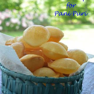 Puri Recipe For Pani Puri.