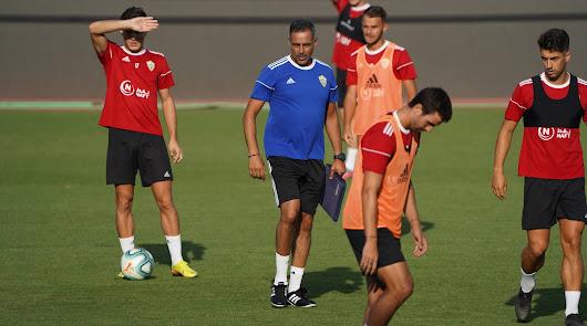 José Gomes aprovecha cada minuto de entrenamiento.