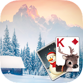 Solitaire Wintry Scene Theme