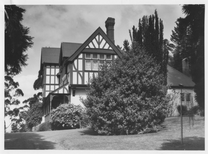 'High Peak', a Queen Anne Tudor style house on the slopes of Mt Wellington, was designed by George Fagg in the late 1800s as a summer retreat for Charles Grant and his family.