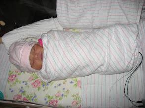 Photo: Buritto baby!