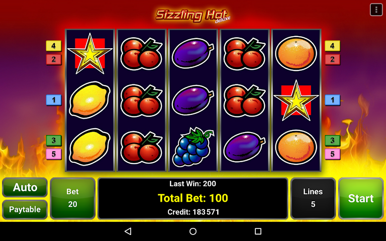 android Sizzling Hot™ Deluxe Slot Screenshot 5