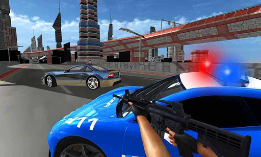 Police Car Gangster Escape Sim screenshots 1