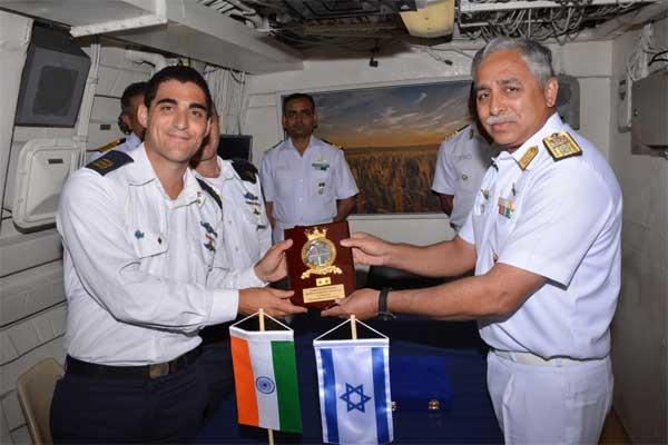 Indian ships in Haifa