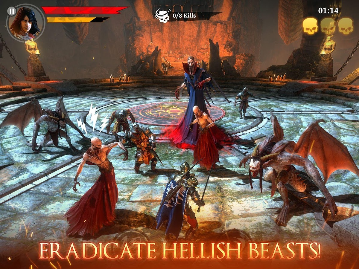 Iron Blade: Medieval RPG- screenshot