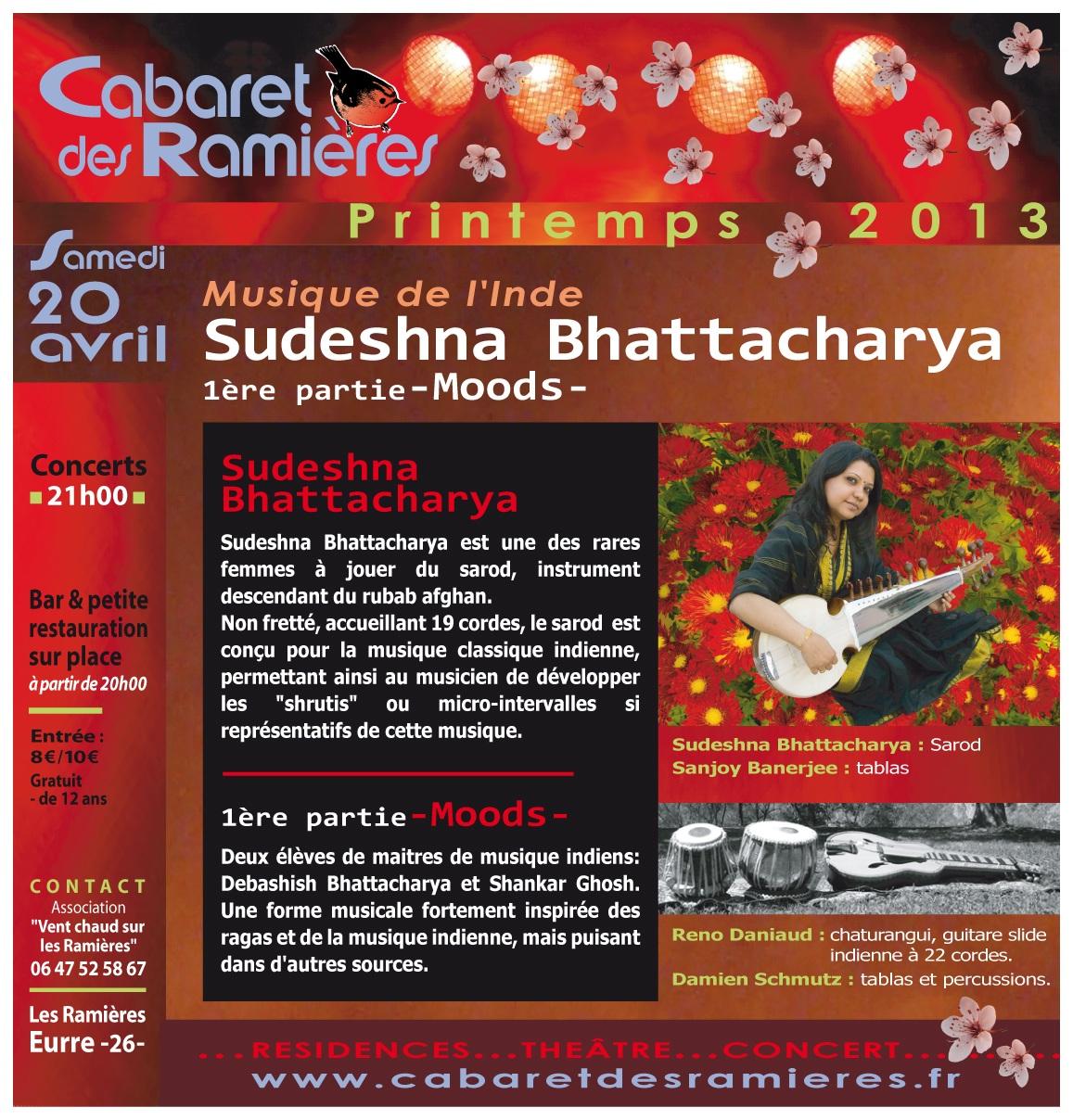Photo: Sudeshna Bhattacharya - Sarod - Concert