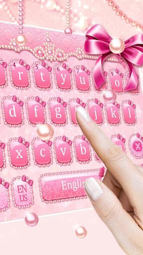 pink pearl keyboard screenshot 3