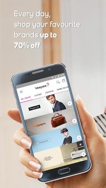 Veepee Android App Screenshot