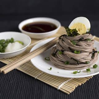 Zaru Soba (Chilled Buckwheat Noodles).