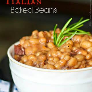 Italian Baked Beans.