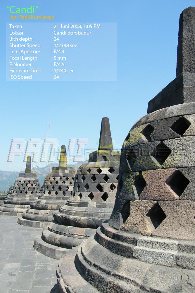 Stupa Candi Borobudur Panji Kurniawan