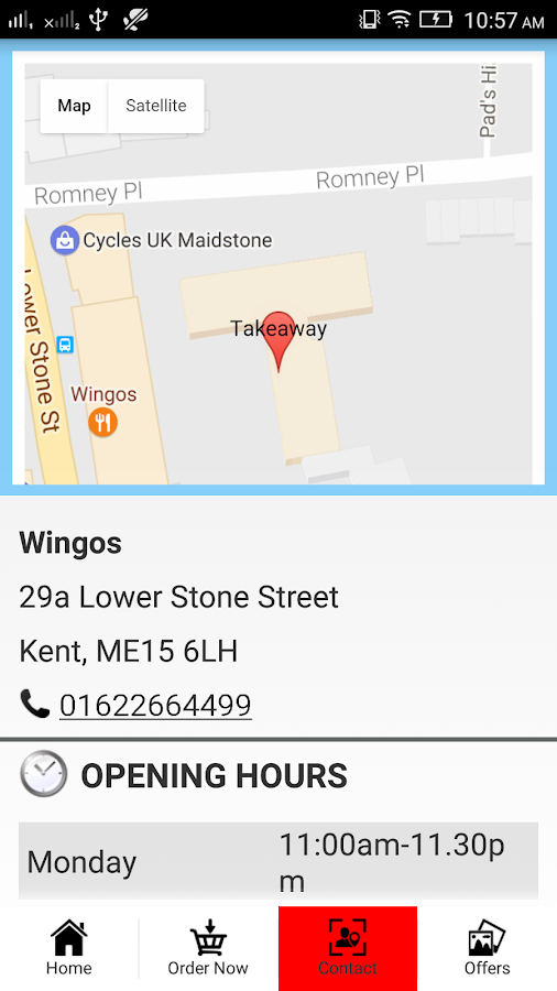 Wingos Maidstone- screenshot
