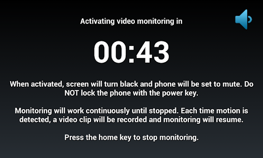 Motion Detector Video Recorder- screenshot thumbnail